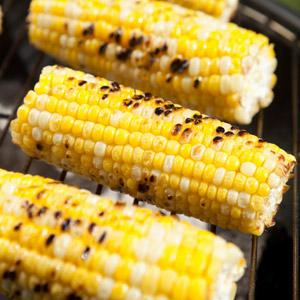 Grilled Corn on the Cob with Cheese and Lime