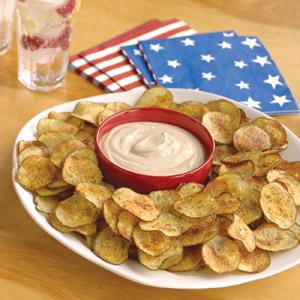 Oven Baked Potato Chips