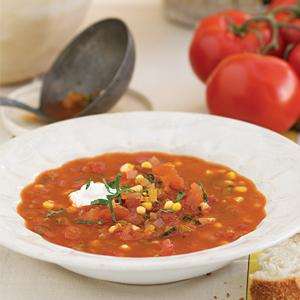 Harvest Tomato-Corn Soup