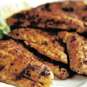 Grilled Tilapia with Spicy Lemon Pepper Rub