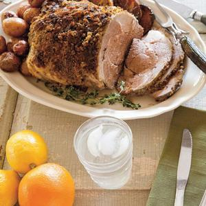Citrus Roasted Leg of Lamb