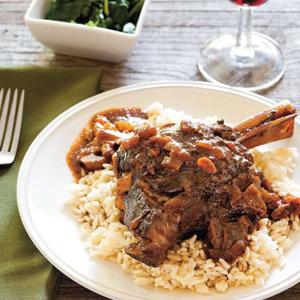 Sweet and Sour Braised Lamb Shanks