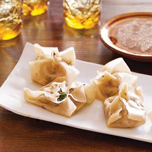 Tofu and Shiitake Steamed Dumplings