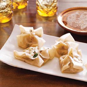 Tofu and Shiitake Steamed Dumplings
