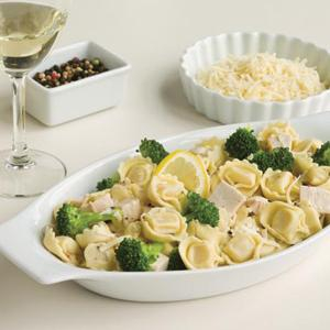 Chicken with Tortellini and Broccoli