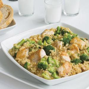Chicken, Rice and Broccoli Dinner
