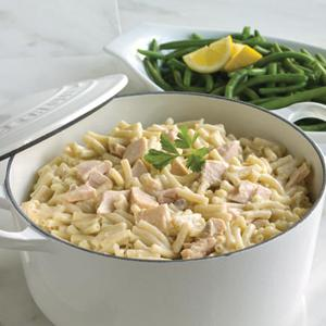 Tuna Casserole with Green Beans