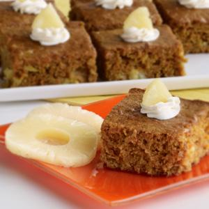 Healthful North African Carrot Cake