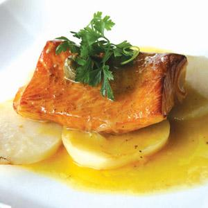 Miso-Glazed Salmon