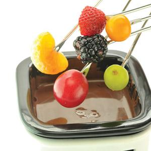 Angels' Delight Fresh Fruit Chocolate Fondue