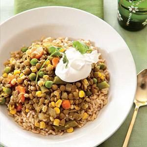 Peggy's Lentil Vegetable Stew