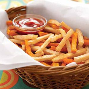 Roasted Root Fries