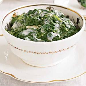 Garlicky Creamed Spinach