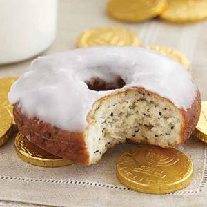Honey Poppy Doughnuts