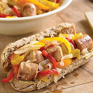 Sausage and Pepper Subs