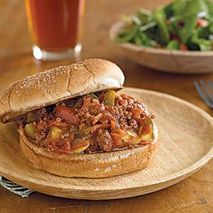 Heart-y Sloppy Joes