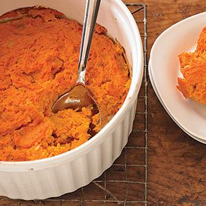 """Tofu Carrot """"Souffle"""""""