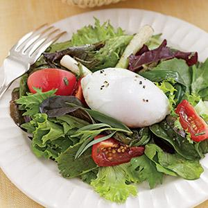 Bistro Salad with Poached Egg