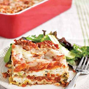 Lightened Lasagna