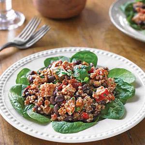 Southwestern Quinoa-Turkey Salad