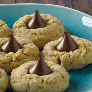 Hershey's Kisses Peanut Butter Blossoms
