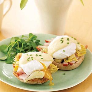 Easy Artichoke Eggs Benedict