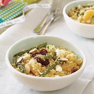 Orange-Almond Couscous Salad