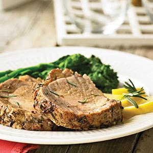 Grill-Roasted Pork Loin with Tuscan Seasonings