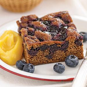 Lemony Blueberry Cake