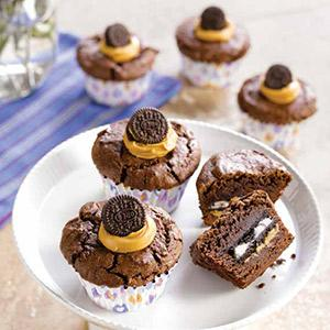 Oreo Brownie Cups