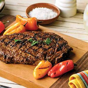 Spicy Three-pepper Rubbed Rib Eye