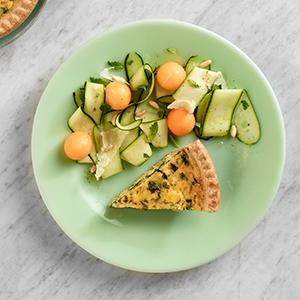 Zucchini and Melon Salad