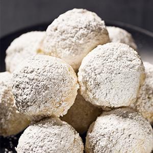 Cherry-Pistachio Snowballs