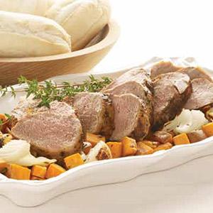 One-Pan Pork Tenderloin and Potatoes