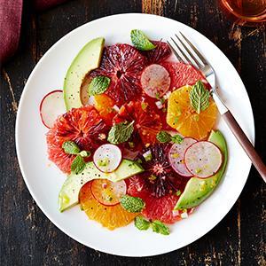 Mixed Citrus Salad with Meyer Lemon Vinaigrette