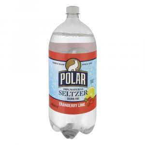 Polar Cranberry Lime Seltzer Water