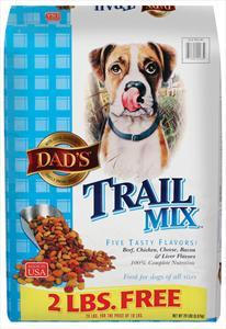 Dad's Trail Mix Dry Dog Food