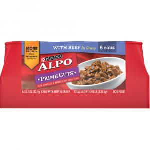 Alpo Prime Cuts Beef Dog Food