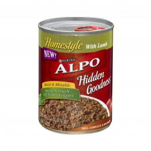 Alpo Hidden Goodness Homestyle With Canned Lamb Dog Food