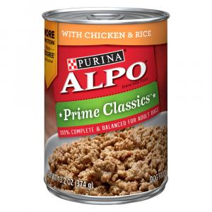 Alpo Hidden Goodness Homestyle With Canned Chicken Dog Food