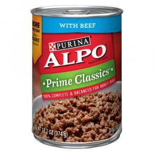 Alpo Hidden Goodness Homestyle With Beef Canned Dog Food