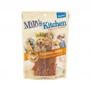 Milo's Kitchen Chicken Jerky Home-style Dog Treats