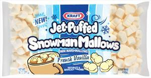 Kraft Jet-puffed French Vanilla Snowmen Marshmallows