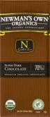 Newman's Own Organics Super Dark Chocolate Bar