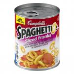 Campbell's Spaghettios W/sliced Franks