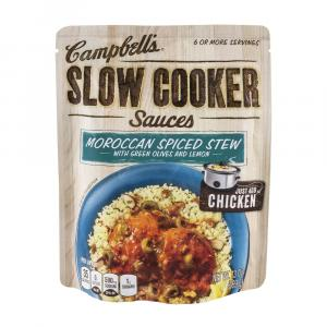 Campbell's Slow Cooker Moroccan Spiced Stew