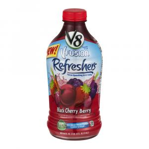 V8 V-fusion Refresher Black Cherry Berry