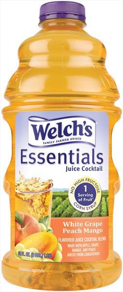 Welch's Essentials Grape Peach Mango Juice