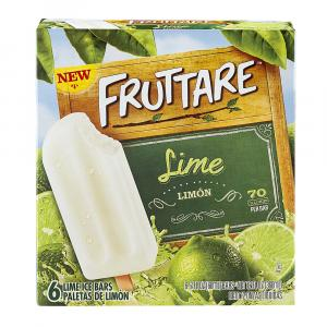 Fruttare Lime Ice Bars