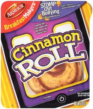 Armour Breakfast Makers Cinnamon Roll